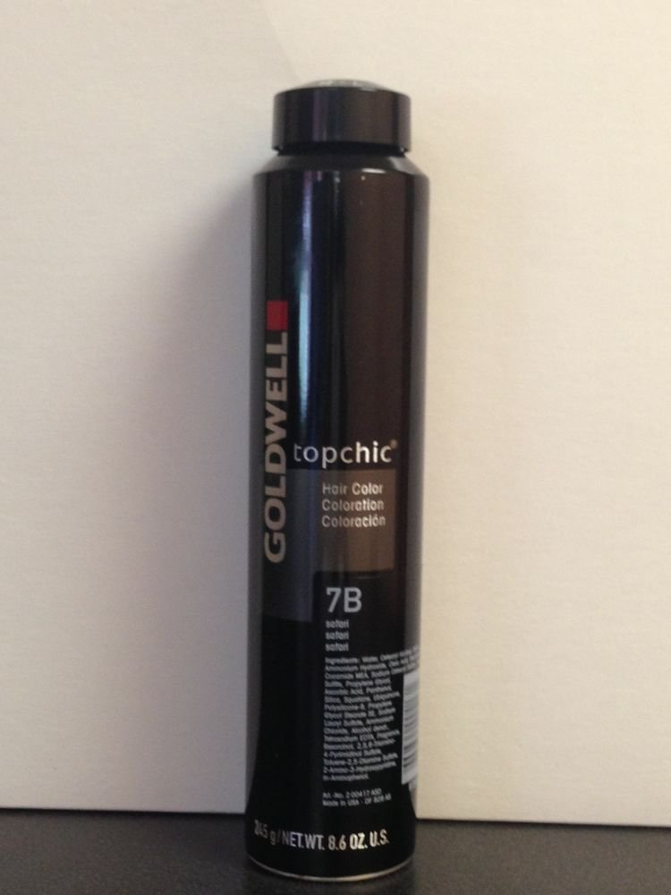 The Best Goldwell Topchic Hair Color 8 6Oz Can Levels 7 Thru 8 Ebay Pictures