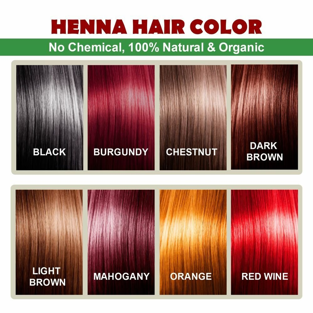 The Best Henna Hair Color 100 Organic And Natural Way Of Pictures