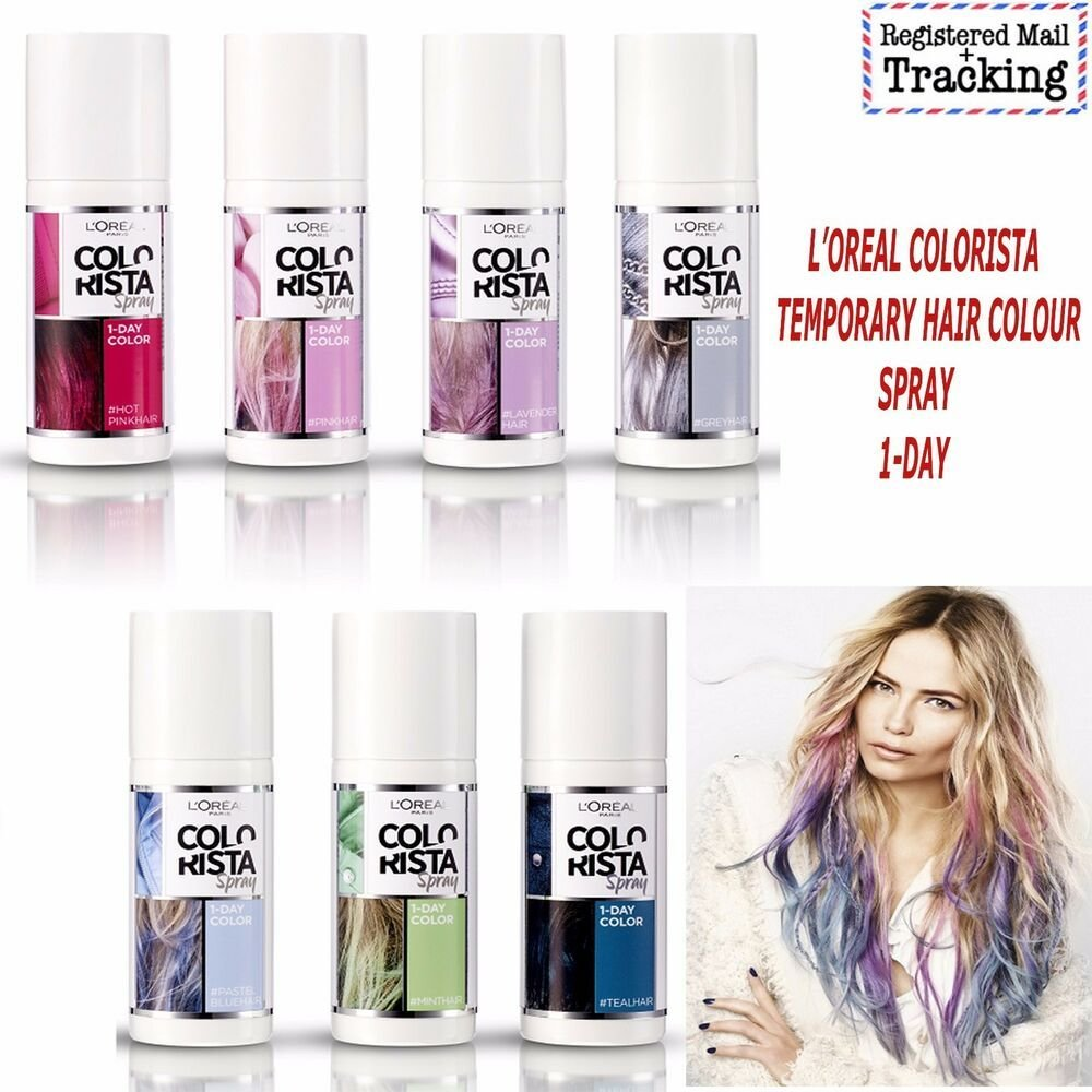 The Best Loreal Colorista Temporary Hair Colour Spray 1 Day Pictures