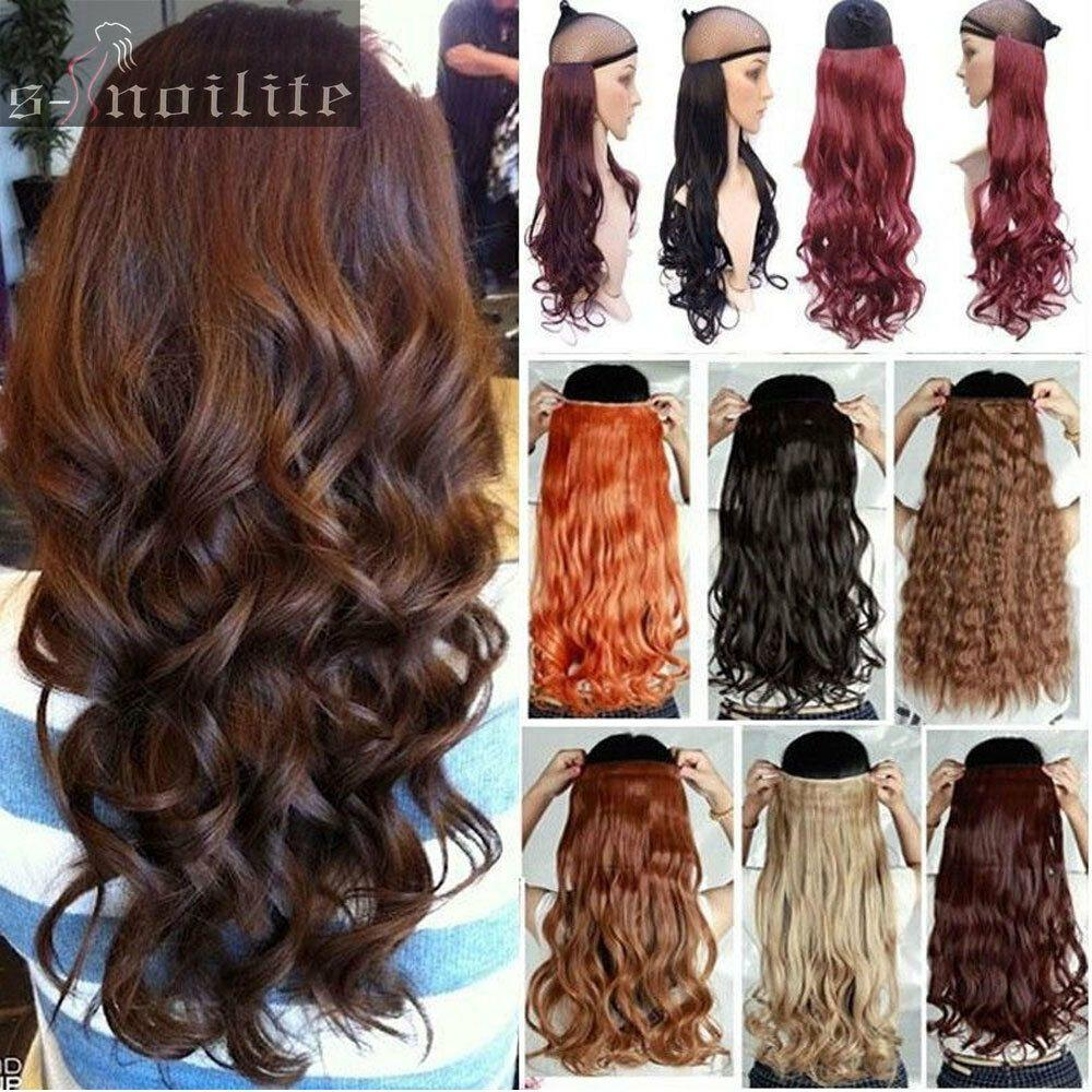The Best 100 Real Thick 200G Full Head Clip In Hair Extensions Natural As Human Hair Q78 Ebay Pictures