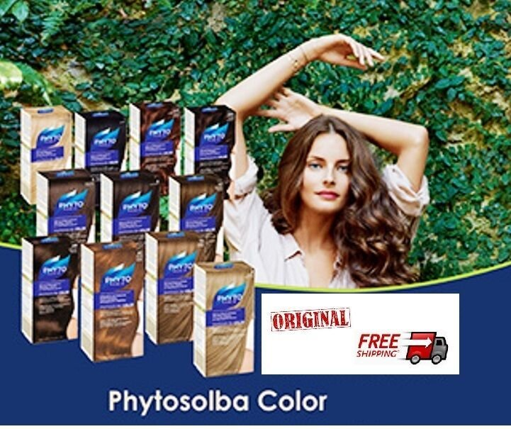 The Best Phyto Paris Phytosolba Permanent Hair Color Treatment Ultra Shine 14 Shades Ebay Pictures