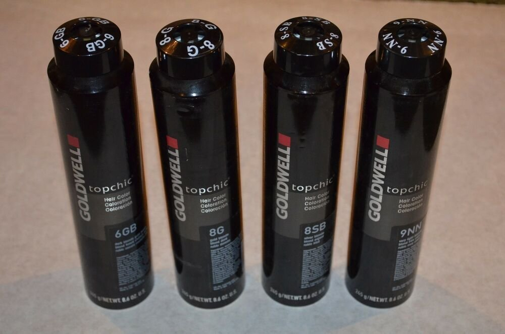 The Best New Goldwell Topchick Hair Color 8 6Oz Cans 6Gb 8G 8Sb 9Nn 4V U Choose Ebay Pictures