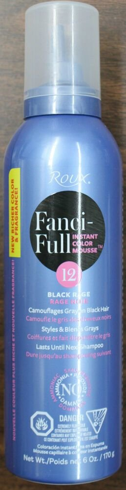 The Best Roux Fanci Full Color Styling Mousse 6 Oz All Colors Pictures