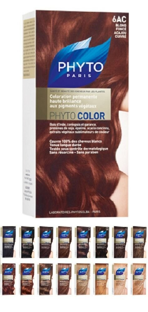 The Best Phyto Permanent Color Treatment Ultra Shine With Botanical Pigments Ebay Pictures