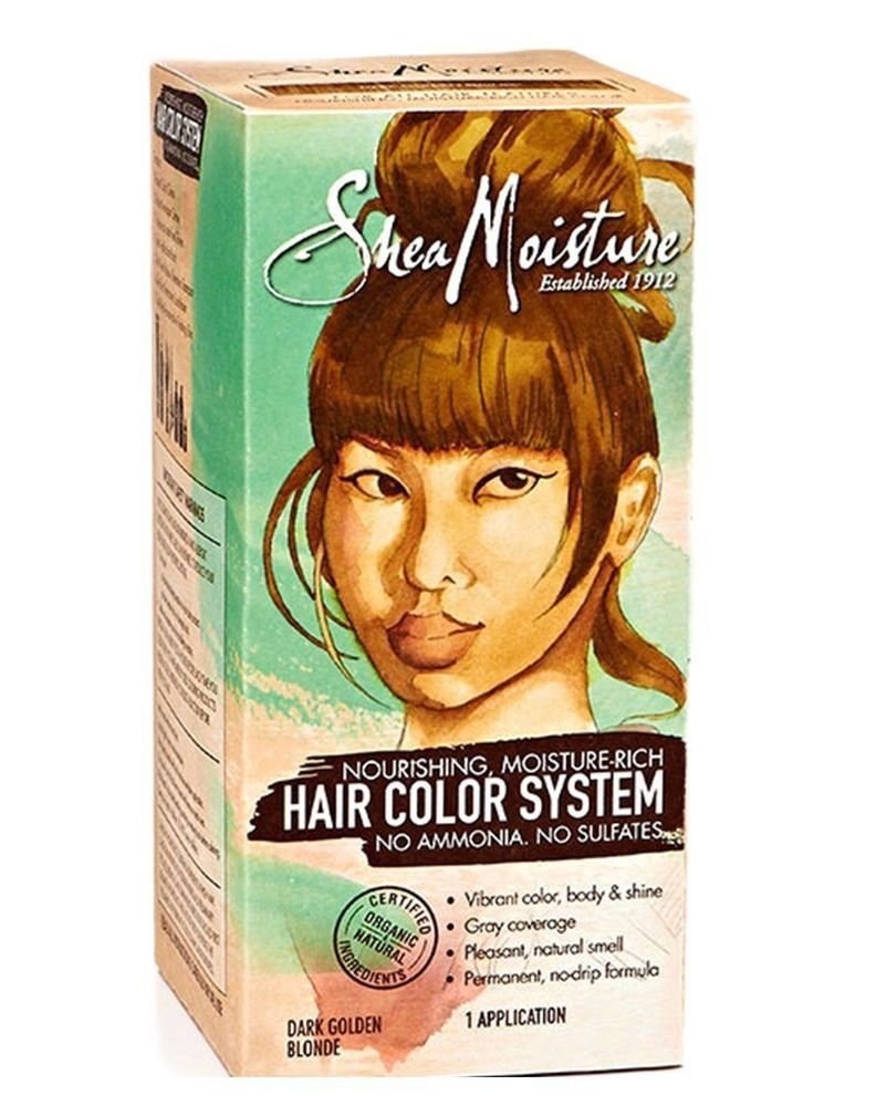 The Best Shea Moisture Dark Golden Blonde Hair Color System Sulfate Free Permanent Hair Ebay Pictures