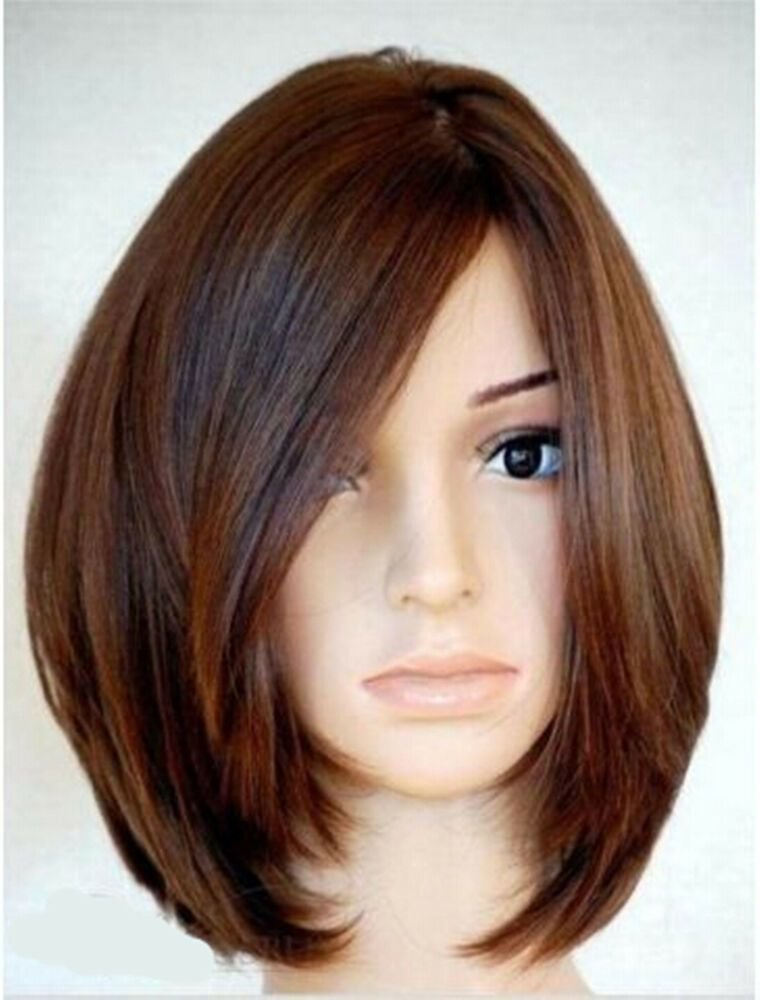 The Best Soft Natural Medium Straight Bob 100 Human Hair Full Lace Pictures