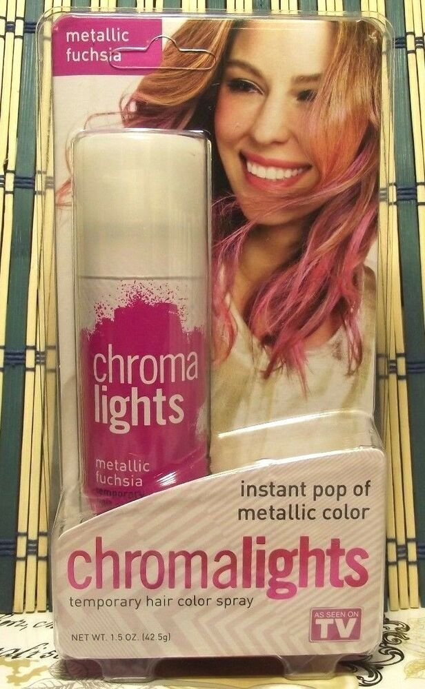 The Best 2 Chroma Lights Temporary Hair Color Spray Instant Pop Of Pictures