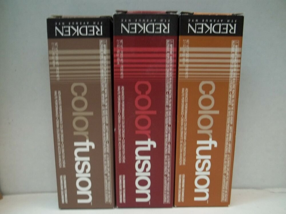 The Best New Cream Redken Color Fusion Professional Hair Color 2 Oz Pictures