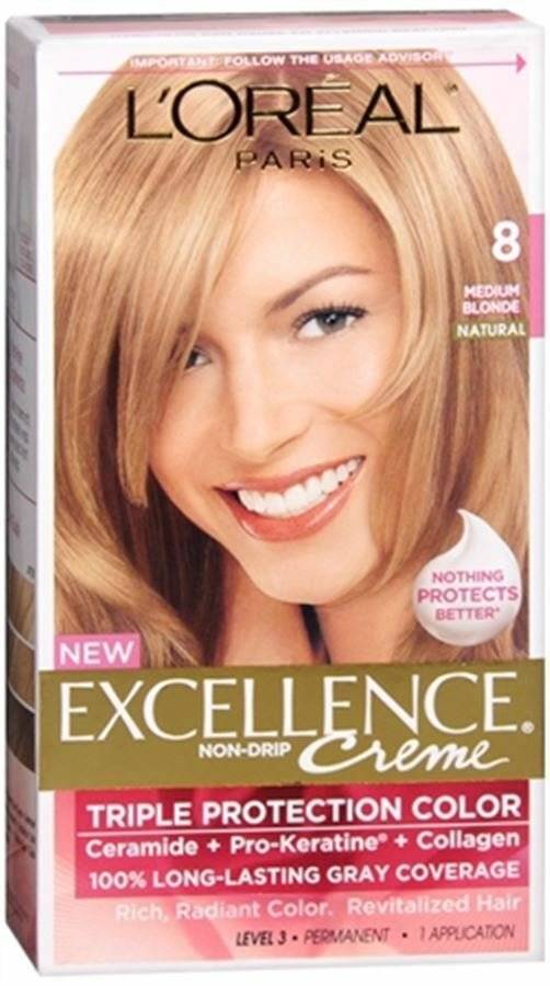 The Best L Oreal Excellence Creme 8 Medium Blonde Natural 1 Pictures