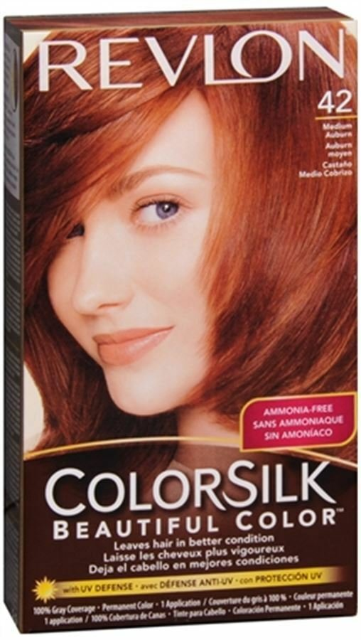 The Best Revlon Colorsilk Hair Color 42 Medium Auburn 1 Each Pack Pictures