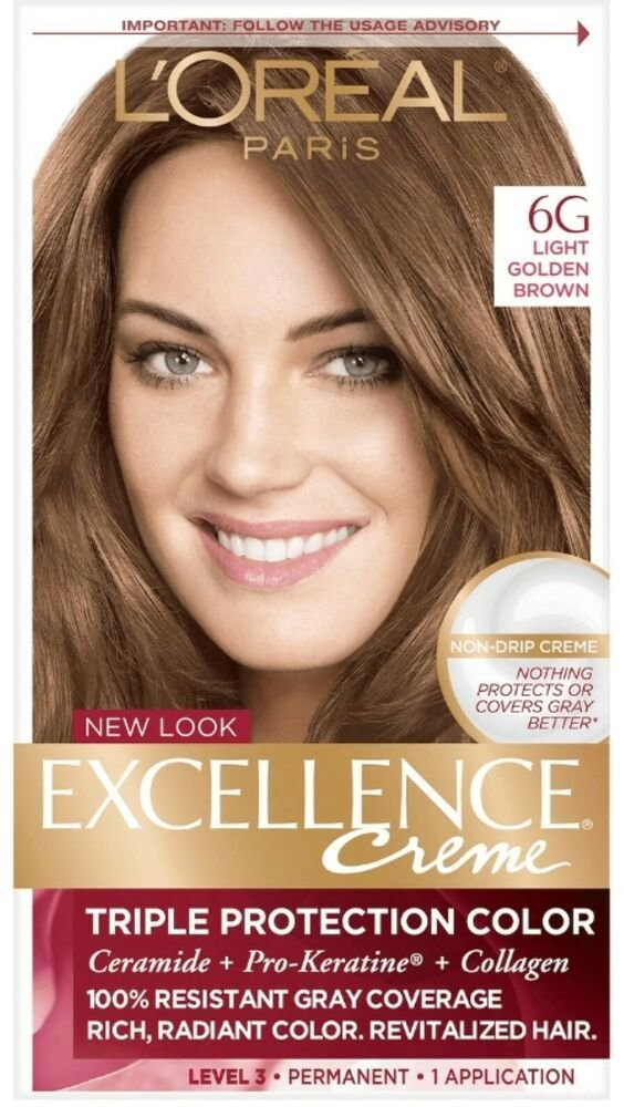 The Best L Oreal Excellence Permanent Hair Color Creme Light Golden Pictures
