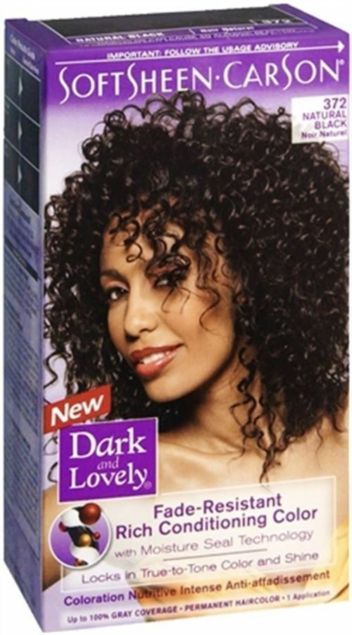 The Best Dark And Lovely Permanent Hair Color 372 Natural Black 1 Pictures