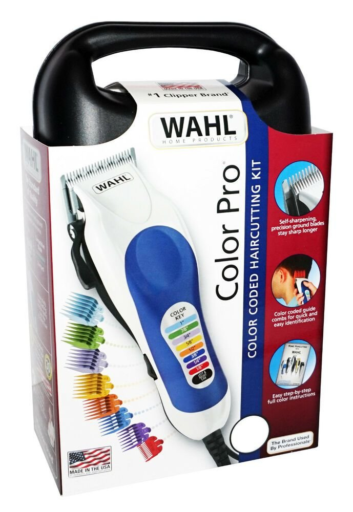The Best Wahl Color Pro Color Coded Haircutting Kit Powerdrive Pictures