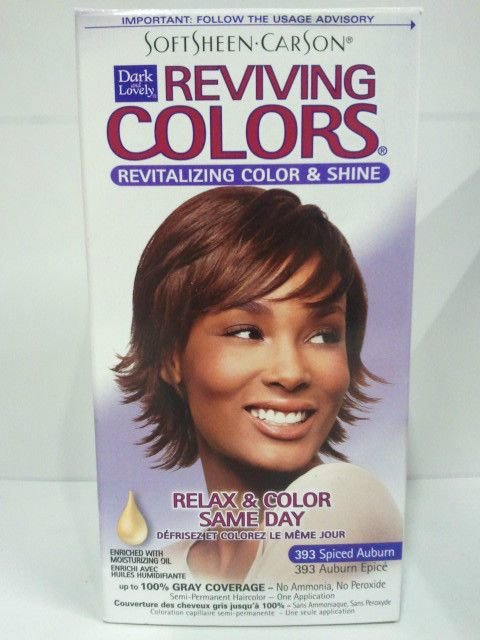 The Best Dark Lovely Soft Sheen Carson Reviving Colors Hair Dye Pictures