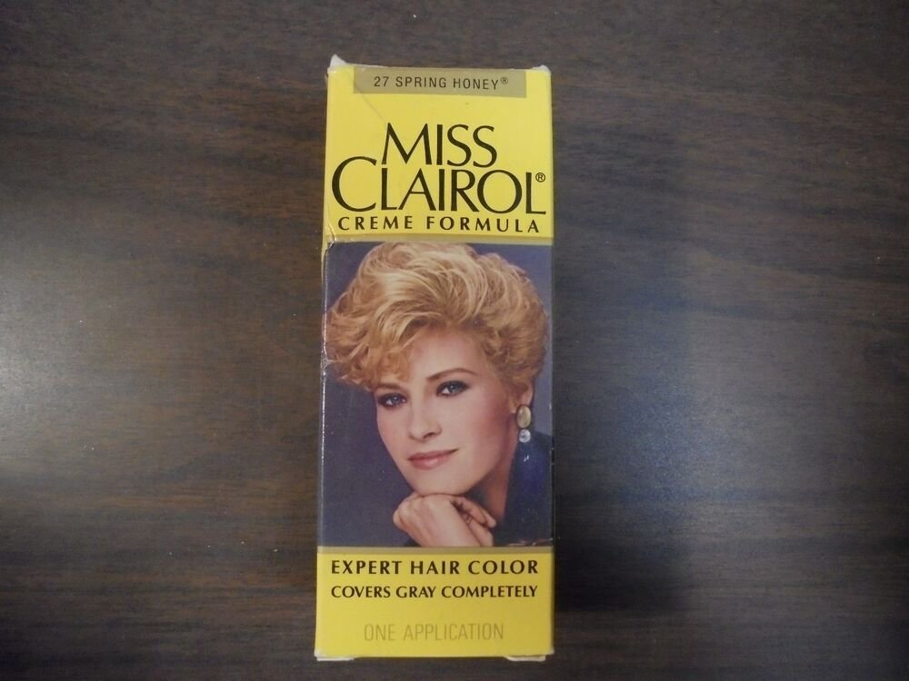 The Best Vintage Miss Clairol Hair Color Bath With Collagen Enriched 27 Spring Honey Ebay Pictures