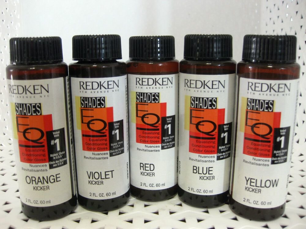 The Best Redken Shades Eq Kicker Conditioning Color Gloss Semi Demi Pictures