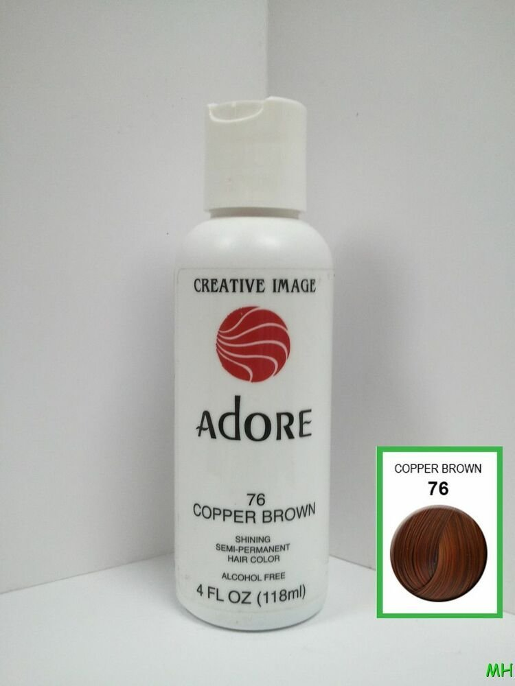 The Best Creative Image Adore Semi Permanent Hair Color 76 Copper Pictures