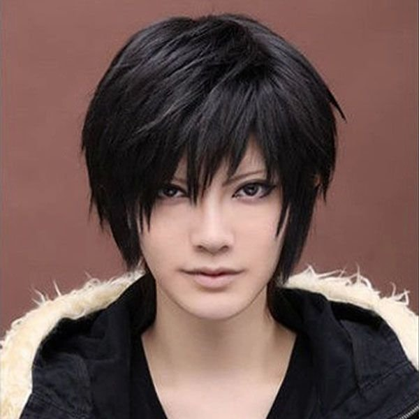 The Best Anime Handsome Boys Short Wig New Vogue S*Xy Men S Male Pictures