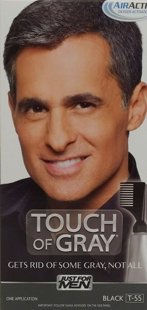 The Best Just For Men Touch Of Gray Hair Color Treatment Kit Ebay Pictures