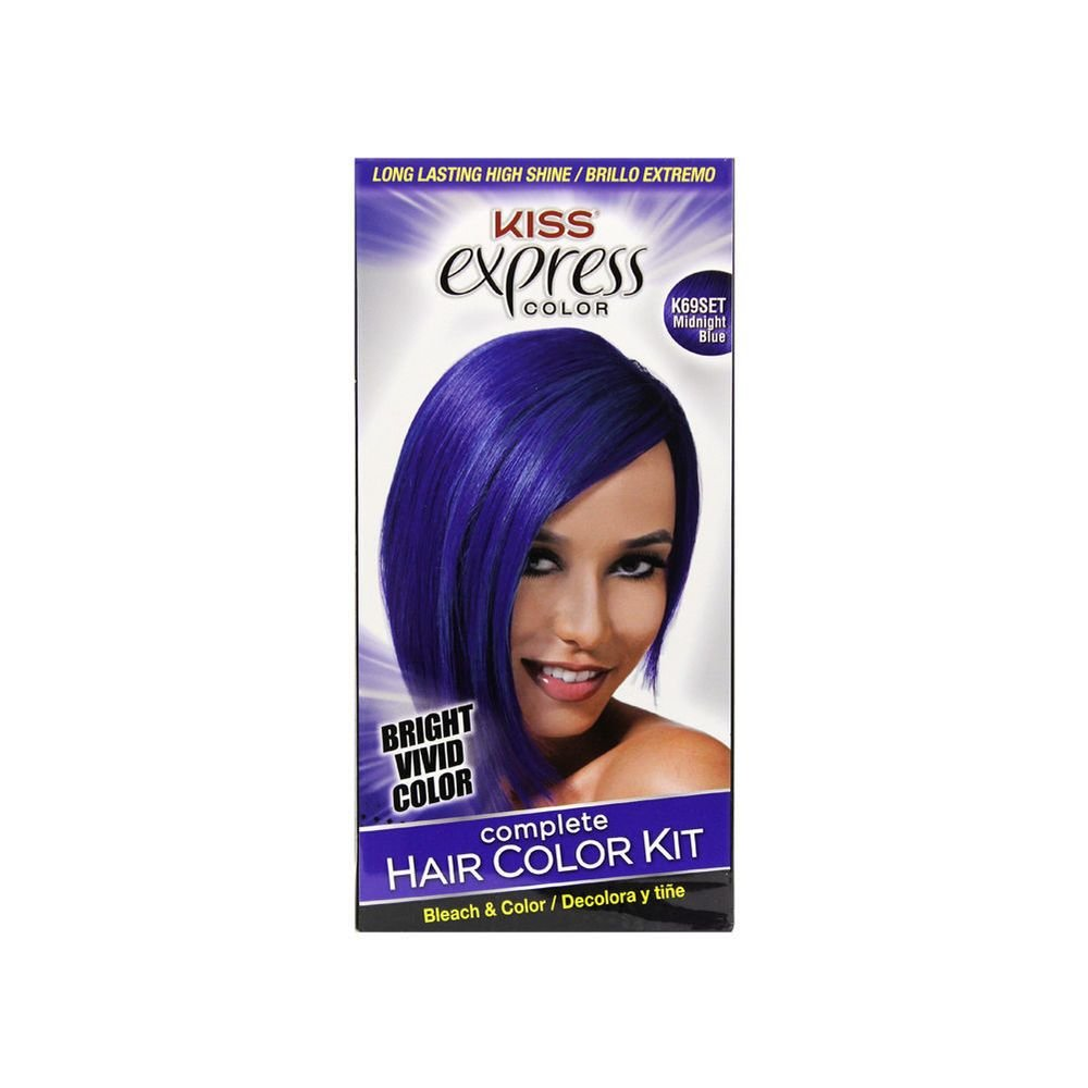 The Best Kiss Express Color Complet Hair Color Kit Semi Permanent Pictures