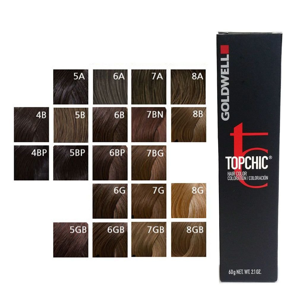 The Best Goldwell Topchic Permanent Hair Color Tubes 2 1 Oz Brown Pictures