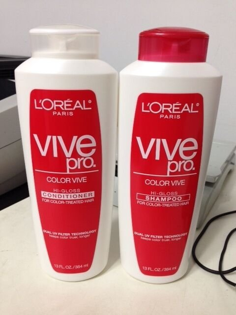 The Best L Oreal Color Vive Hi Gloss Conditioner And Shampoo For Pictures