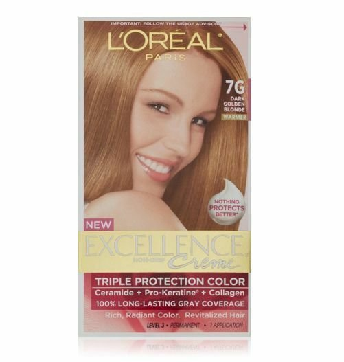 The Best L Oreal Excellence Creme 7G Dark Golden Blonde Warmer Pictures