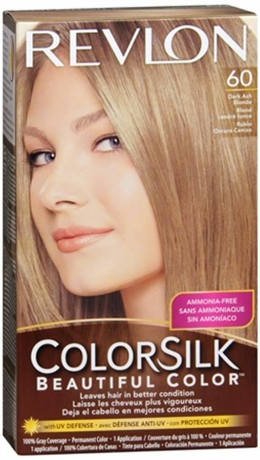 The Best Colorsilk Hair Color 6A Dark Ash Blonde 1 Each Ebay Pictures