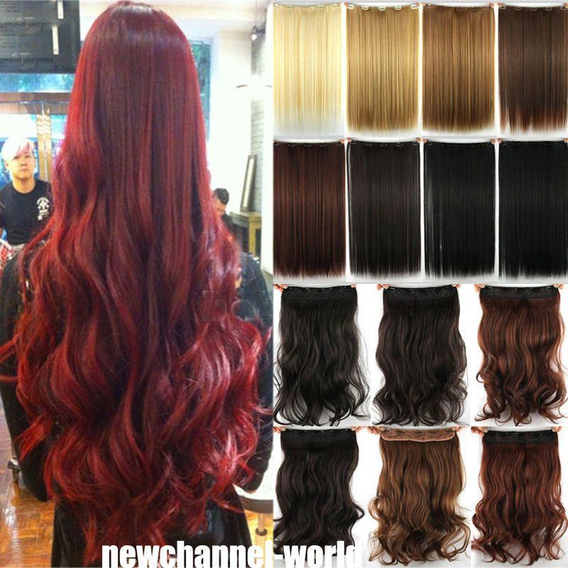 The Best Long Straight Curly Wavy Hair Extension Clip In Hair Pictures