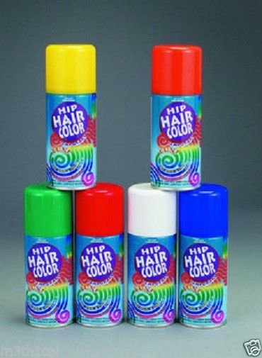 The Best Temporary Hairspray Hair Spray Dye Color Can Makeup Halloween 3Oz Ebay Pictures