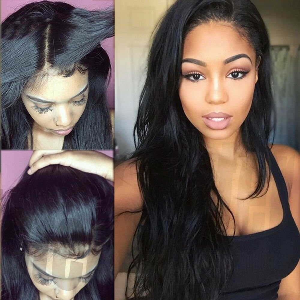 The Best Real Thick 100 Brazilian Human Hair Silk Full Lace Lace Pictures