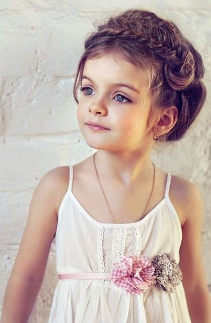 The Best 21 Super Cute Flower Girl Hairstyle Ideas To Make Weddingomania Pictures