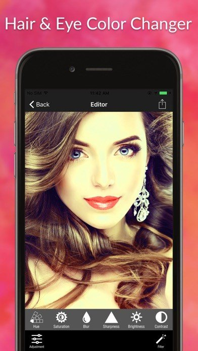 The Best Hair Color Changer Eye Color Changer Beautify Pictures