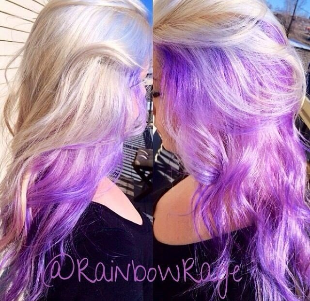The Best Radiant Orchid Hair Color Pictures