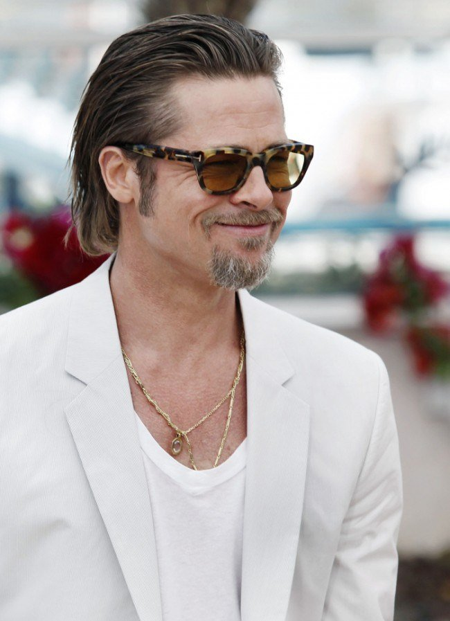 The Best 60 Charming Brad Pitt Hairstyles Styling Ideas 2018 Pictures