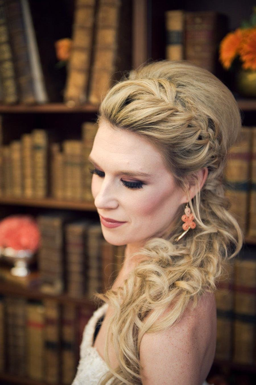 The Best 19 Gorgeous Hairstyles For Your Wedding Day Weddbook Pictures