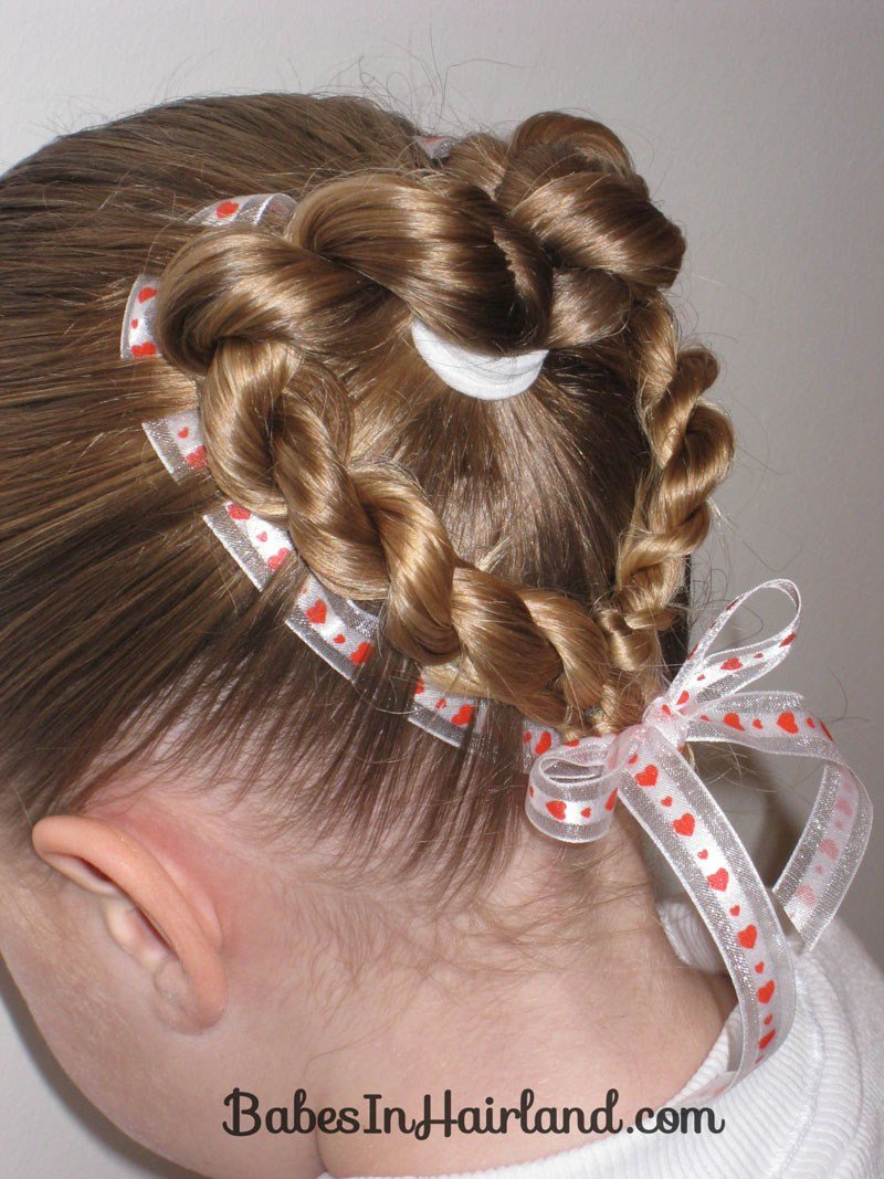The Best Heart To Heart Valentine S Day Hairstyle B*B*S In Hairland Pictures