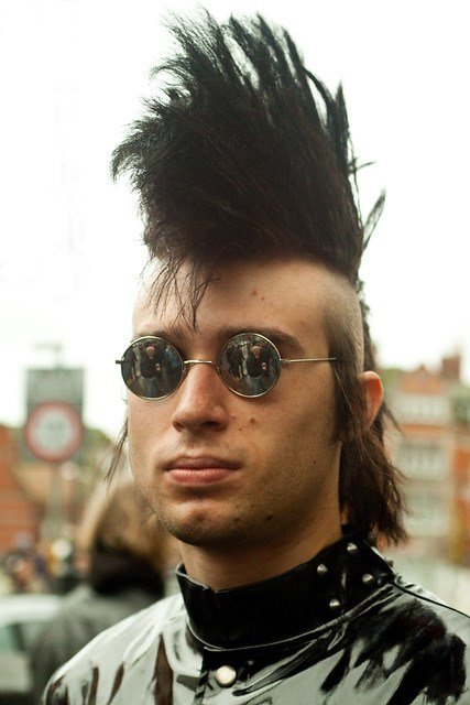 The Best Mohican Hair Style Goth Weekend 5 Nov 2011 26A Flickr Photo Sharing Pictures