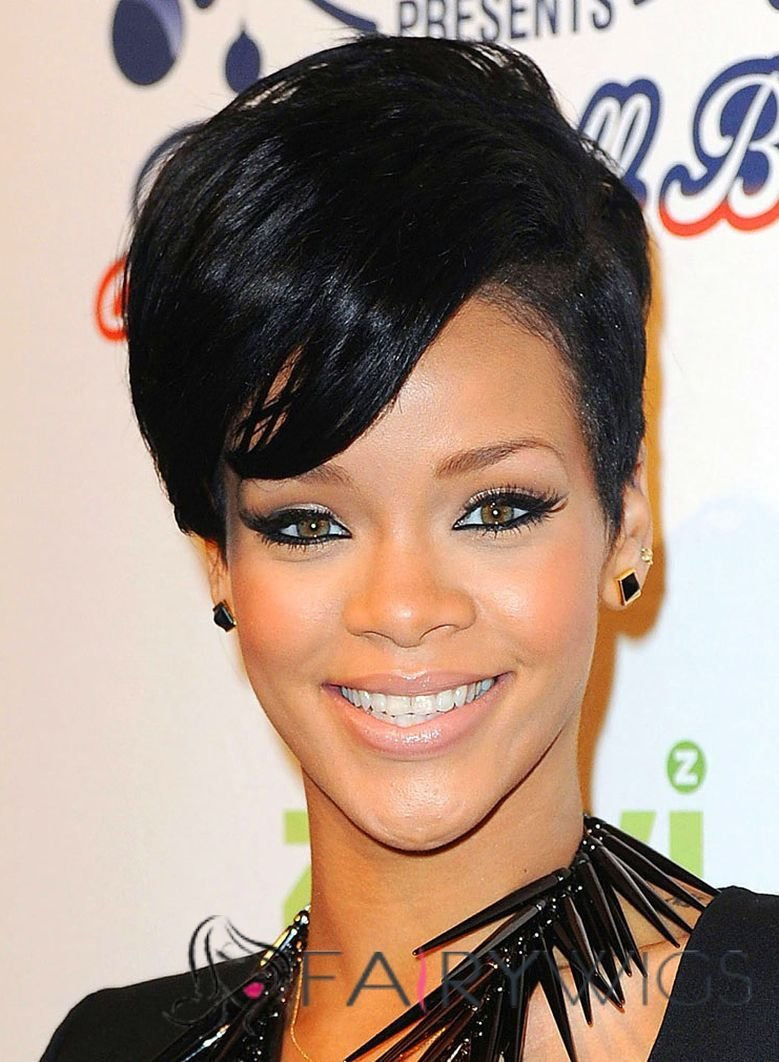 The Best Stunning Short Black Female Celebrity Hairstyle Fairywigs Com Pictures