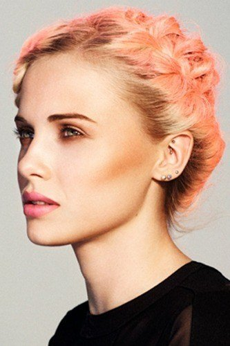 The Best F*Ck Yeah Fantasy Hair Peach Colored Hair Pictures