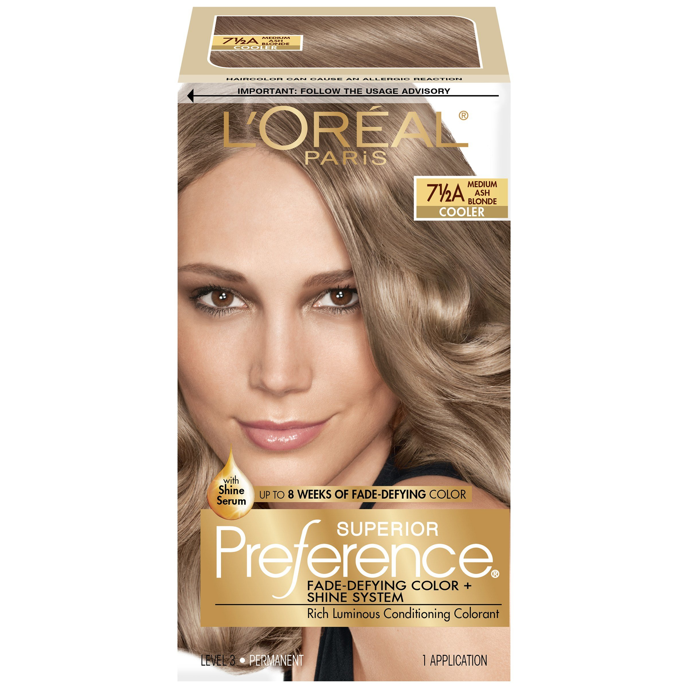 The Best L Oreal 7 1 2A Cooler Medium Ash Blonde Hair Color 1 Kt Pictures