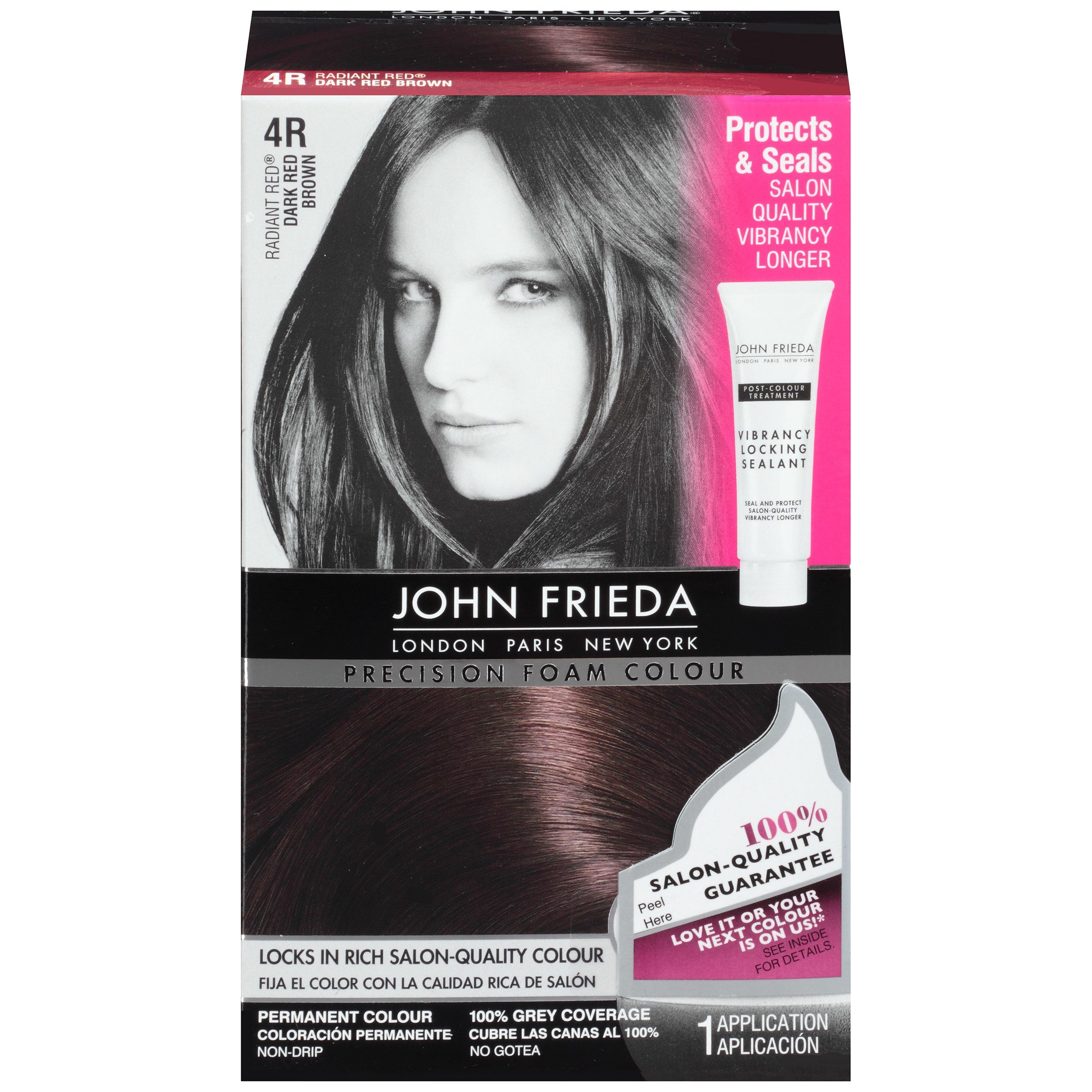 The Best John Frieda Precision Foam Colour Radiant Red Dark Red Pictures