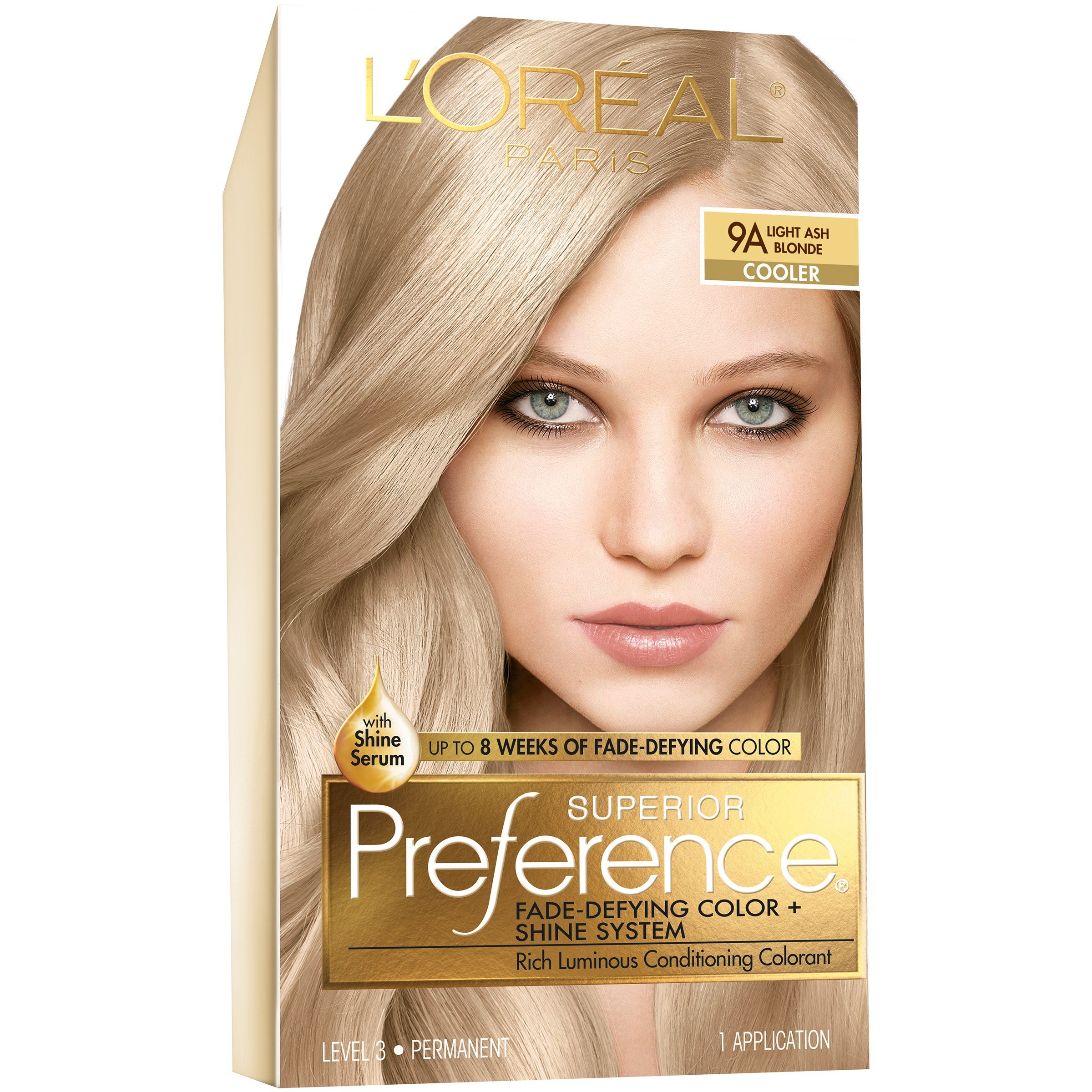 The Best L Oreal 9A Cooler Light Ash Blonde Hair Color 1 Kt Box Pictures