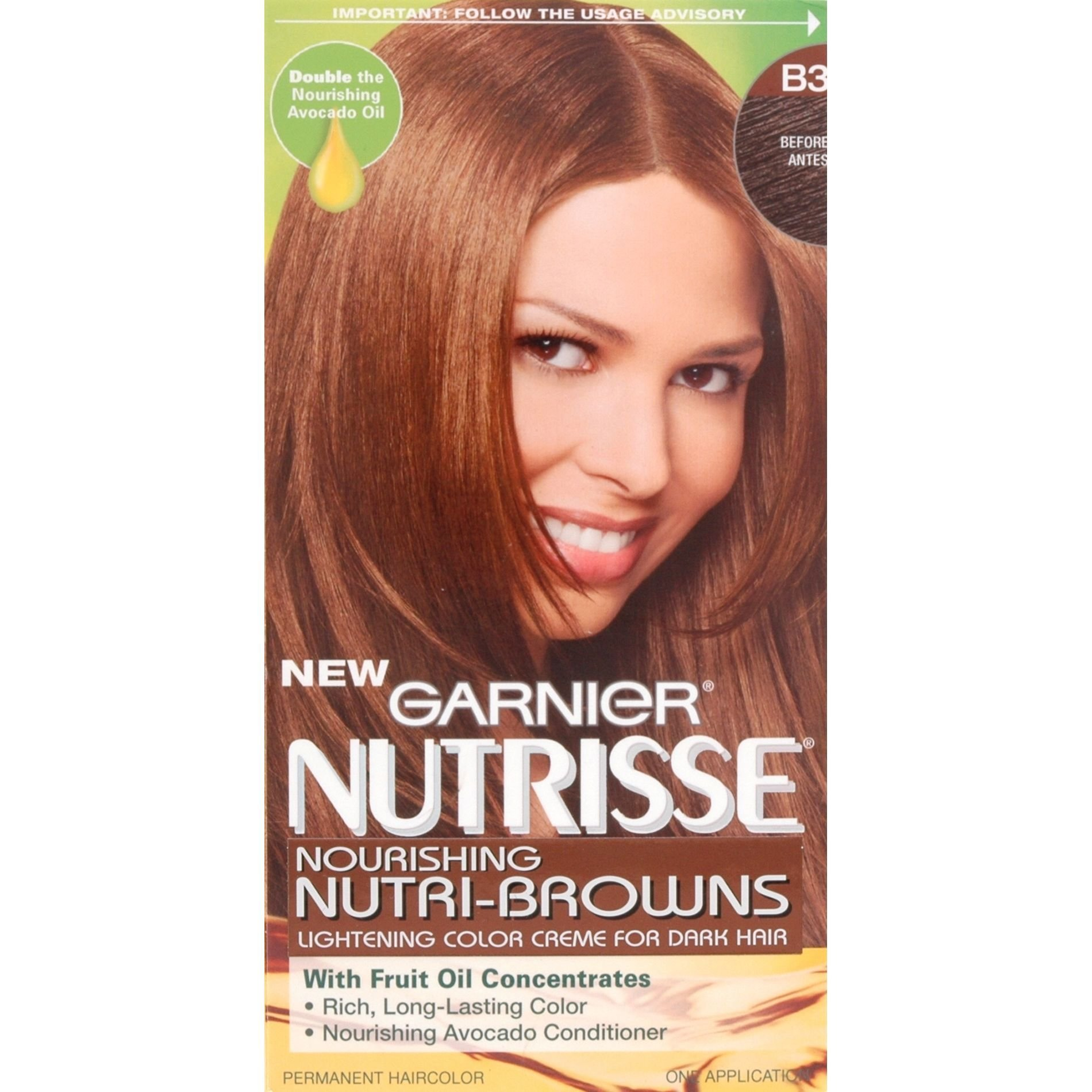 The Best Garnier Nutrisse Nutri Browns Permanent Hair Color 1 Kit Pictures