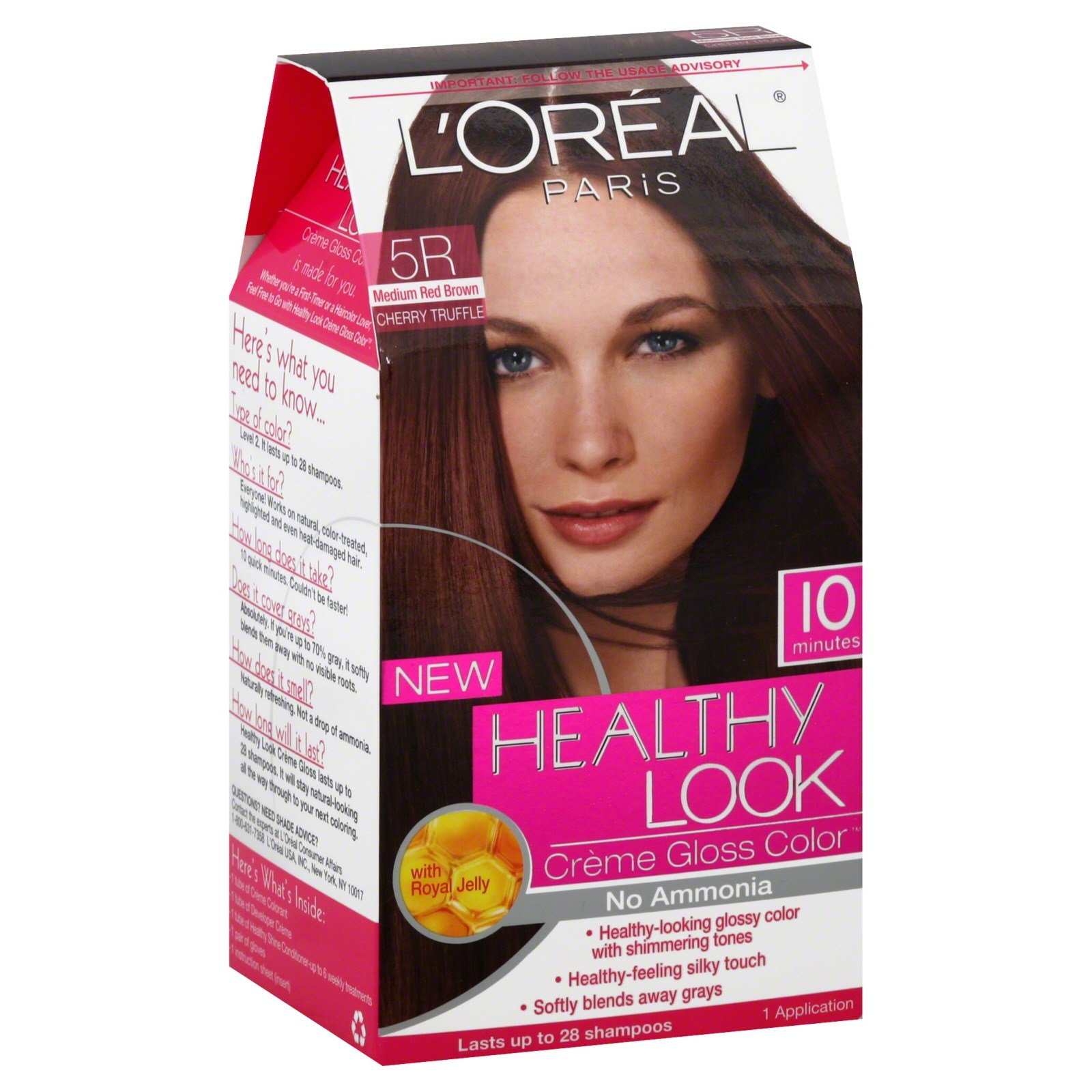 The Best L Oreal Healthy Look Hair Dye Creme Gloss Color Medium Pictures