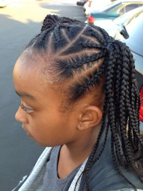 The Best African Braids Hairstyles For Kids Pictures