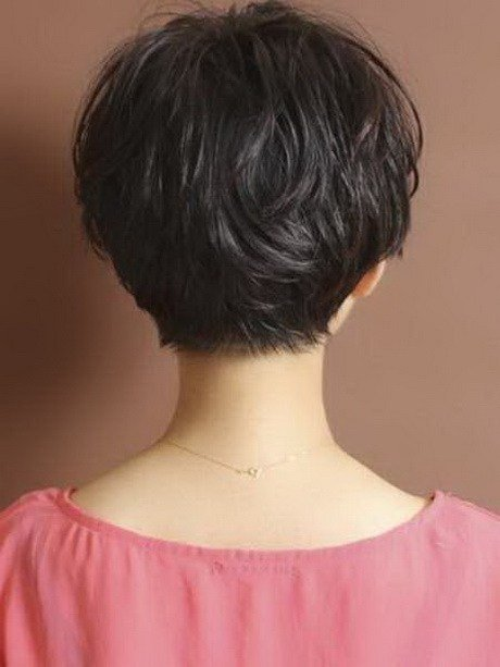 The Best Back View Of Short Haircuts For Women Pictures