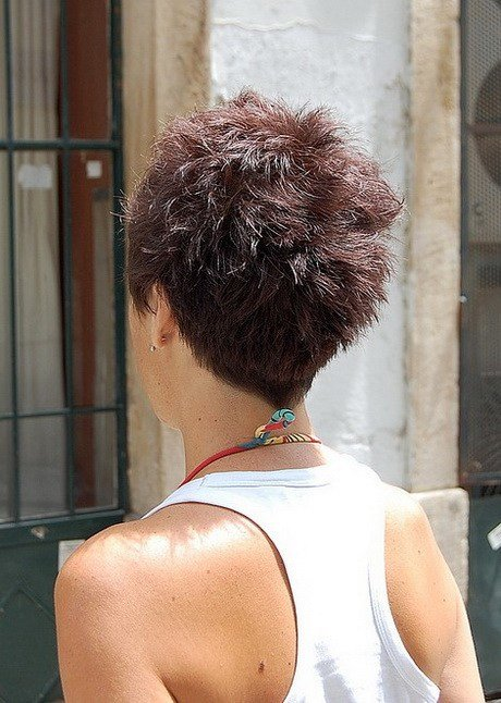 The Best Back View Of Short Hairstyles Pictures