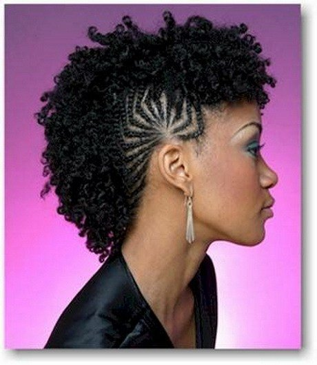 The Best Braided Mohawk Hairstyles For Black Girls Pictures