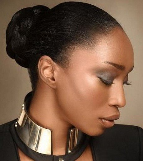 The Best Bun Hairstyles For Black Women Pictures